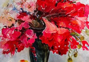 Експозиція до дня художника у виноградівській галереї «Імпасто»